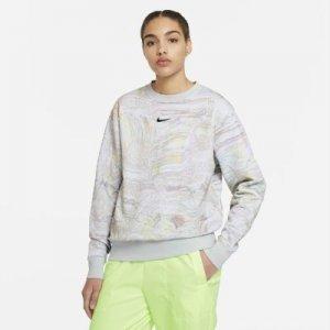 Женский флисовый свитшот для танцев Nike Sportswear - Белый