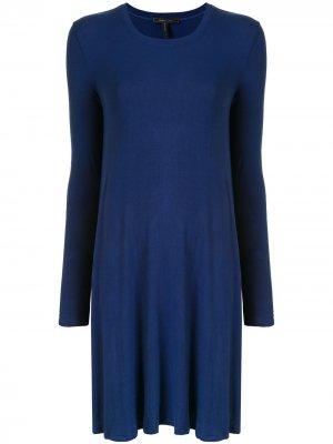 Платье мини BCBG Max Azria. Цвет: синий