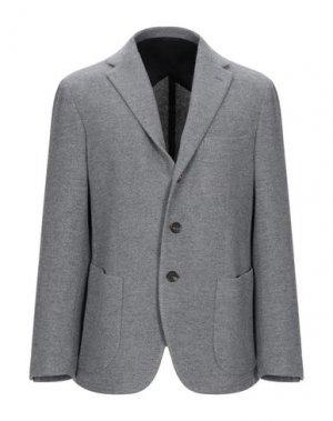 Пиджак DOPPIAA. Цвет: серый