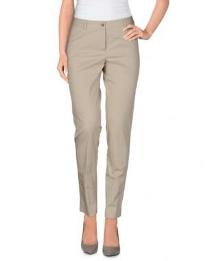 Повседневные брюки A.B.. Цвет: бежевый