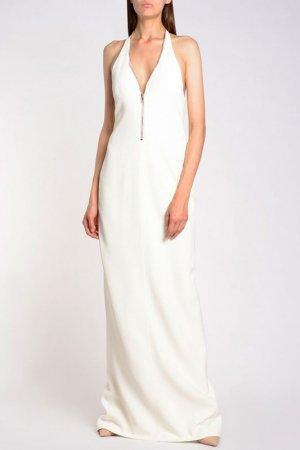 Платье Alexander Wang. Цвет: бежевый