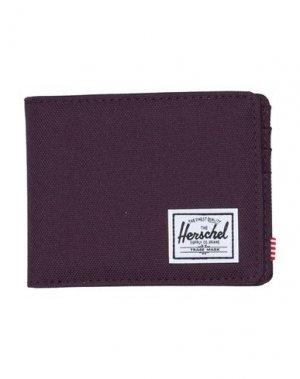 Бумажник HERSCHEL SUPPLY CO.. Цвет: баклажанный