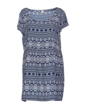 Короткое платье IRIEDAILY. Цвет: синий