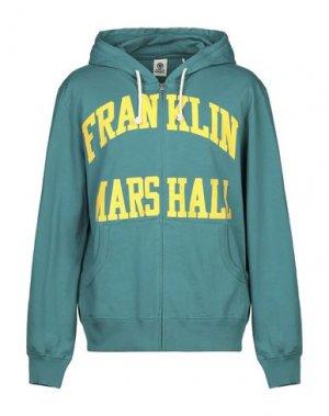 Толстовка FRANKLIN & MARSHALL. Цвет: зеленый