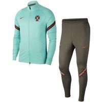 Мужской футбольный костюм Portugal Strike - Зеленый Nike