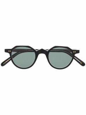 Солнцезащитные очки P21 Lesca. Цвет: черный