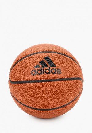 Мяч баскетбольный adidas PRO OFF GM BALL. Цвет: коричневый