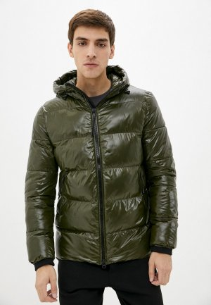 Куртка утепленная Geox. Цвет: хаки