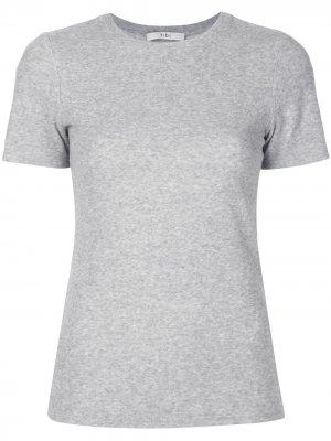 Облегающая футболка Terry Tibi. Цвет: серый