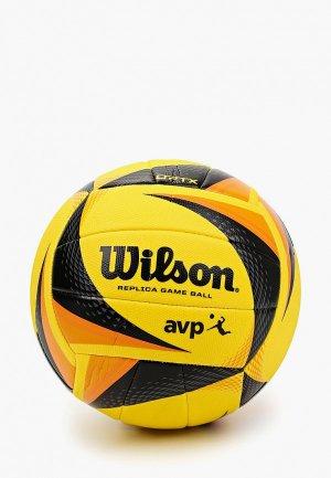 Мяч волейбольный Wilson AVP REPLICA NEW. Цвет: желтый