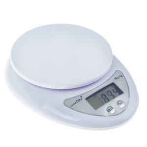 Весы кухонные luazon lvk-501, электронные, до 5 кг, белые Home