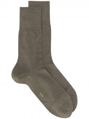 Носки Fal Tiago Falke. Цвет: зеленый