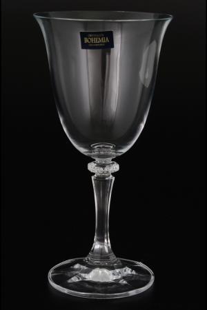 Набор бокалов для вина, 290 мл Crystalite Bohemia. Цвет: прозрачный