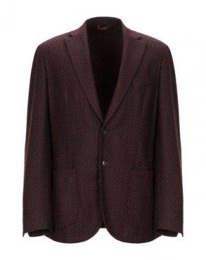 Пиджак EDDY & BROS. Цвет: красно-коричневый