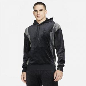 Верх от мужского спортивного костюма Zion - Черный Nike