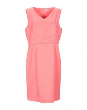 Платье до колена BETTY BARCLAY. Цвет: лососево-розовый