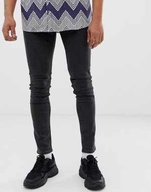 Черные джинсы скинни -Черный цвет Cheap Monday