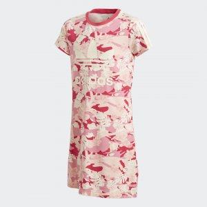 Платье Adicolor Originals adidas. Цвет: белый
