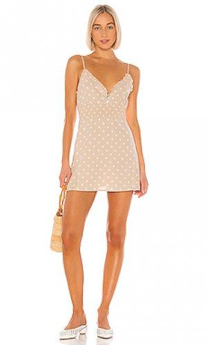 Платье delia Privacy Please. Цвет: цвет загара