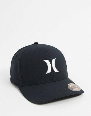 Черная кепка -Черный Hurley