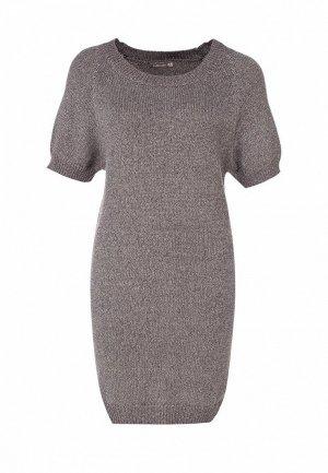 Платье LeMonada LE005EWET028. Цвет: серый