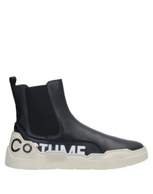 Полусапоги и высокие ботинки COSTUME NATIONAL HOMME. Цвет: черный