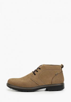 Ботинки Ara с увеличенной полнотой К. Цвет: бежевый
