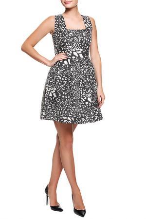 Платье Acasta. Цвет: черный,белый