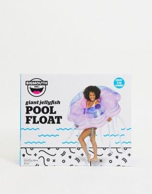 Фиолетовый надувной круг для бассейна в виде медузы -Фиолетовый цвет Big Mouth