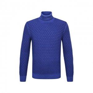 Шерстяной свитер Gran Sasso. Цвет: синий