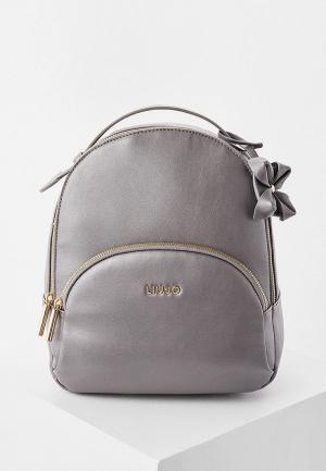 Рюкзак Liu Jo. Цвет: серый
