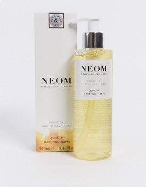 Жидкое мыло для рук и тела 250 мл с мятой мандарином NEOM