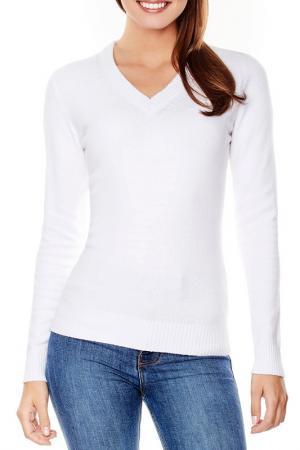 Пуловер Vincenzo Boretti. Цвет: белый