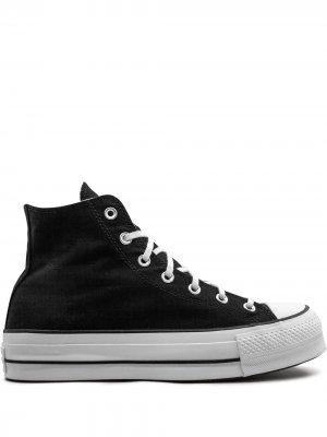 Высокие кеды на платформе Converse. Цвет: черный
