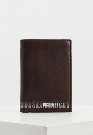 Кошелек Bikkembergs. Цвет: коричневый