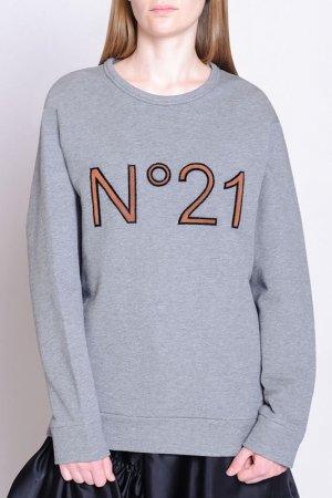 Свитшот N21. Цвет: серый