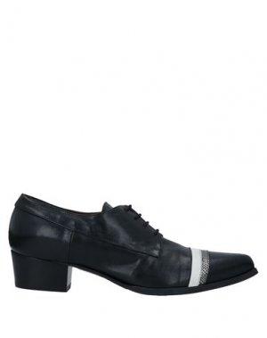 Обувь на шнурках I AM. Цвет: черный
