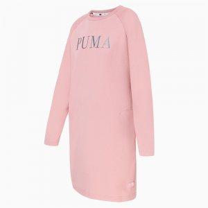 Платье Athletics Dress FL PUMA. Цвет: розовый