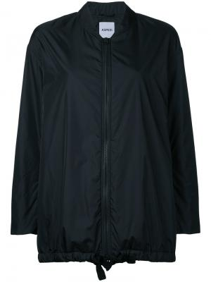 Куртка-бомбер свободного кроя Aspesi. Цвет: чёрный