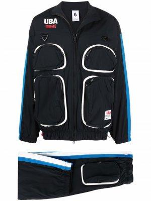 Спортивный костюм UBA из коллаборации с Undercover Nike. Цвет: черный