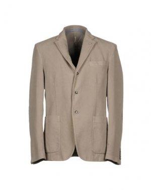 Пиджак MANUEL RITZ WHITE. Цвет: голубиный серый