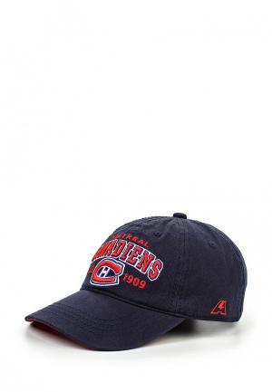 Бейсболка Atributika & Club™ NHL Montreal Canadiens. Цвет: синий