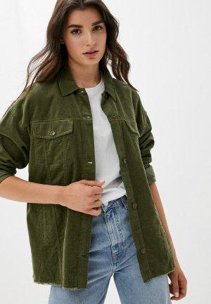Рубашка Befree Exclusive online. Цвет: хаки