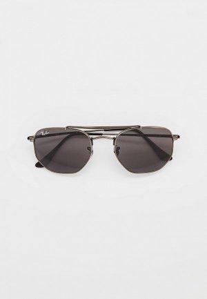 Очки солнцезащитные Ray-Ban® RB3648 9229B1. Цвет: серый