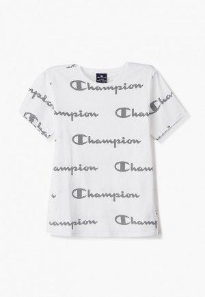 Футболка Champion. Цвет: белый