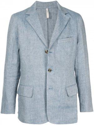 Легкий пиджак 120% Lino. Цвет: черный
