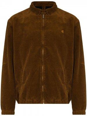 Вельветовая куртка Madison Carhartt WIP. Цвет: коричневый