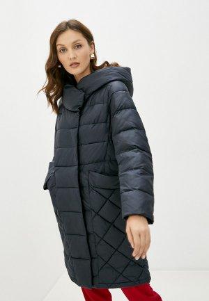 Куртка утепленная la Biali. Цвет: черный