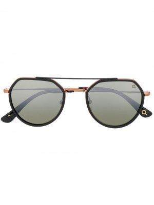 Солнцезащитные очки-авиаторы Liberty Etnia Barcelona. Цвет: черный