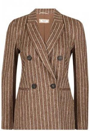 Пиджак PESERICO. Цвет: коричневый